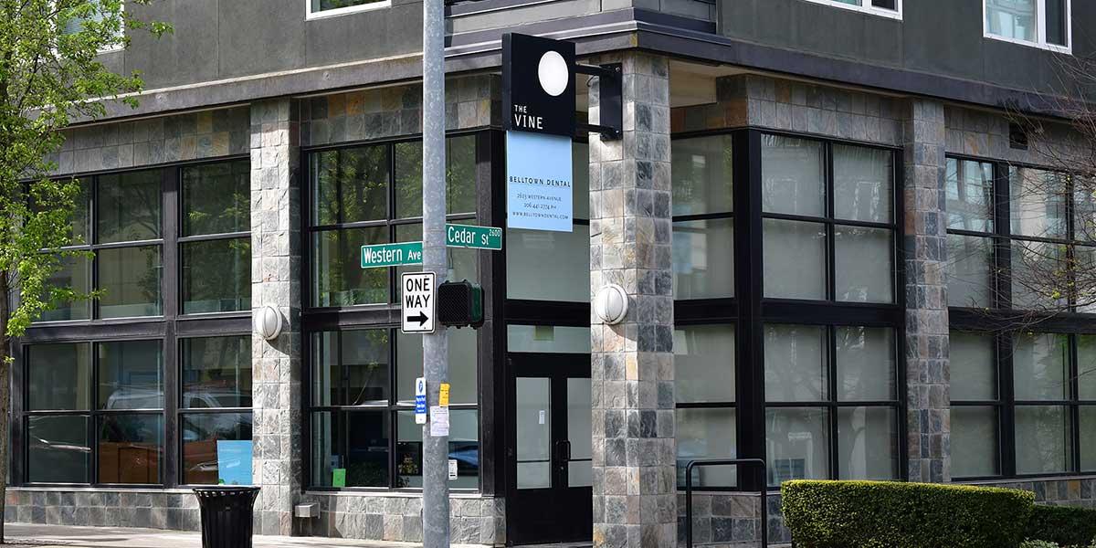 Belltown Dental Office Exterior